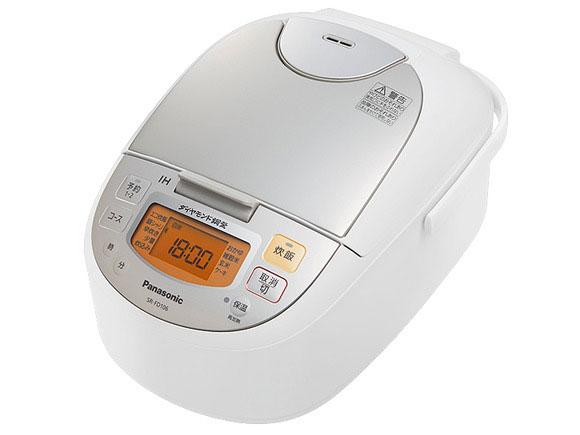 【新品】【送料無料】パナソニック 5.5合 炊飯器 IH式 シャンパンホワイト SR-FD106-W
