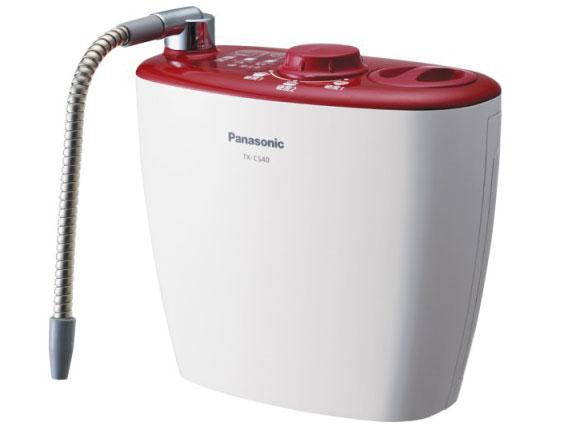 記念日 格安SALEスタート パナソニック 浄水器 据置型 チェリーレッド 新品 TK-CS40-R 送料無料