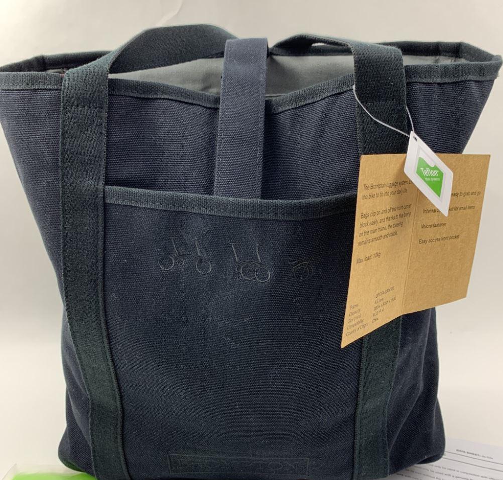 送料無料 BROMPTON Tote Bag ブロンプトン トート バッグ (ブラック) UK輸入品