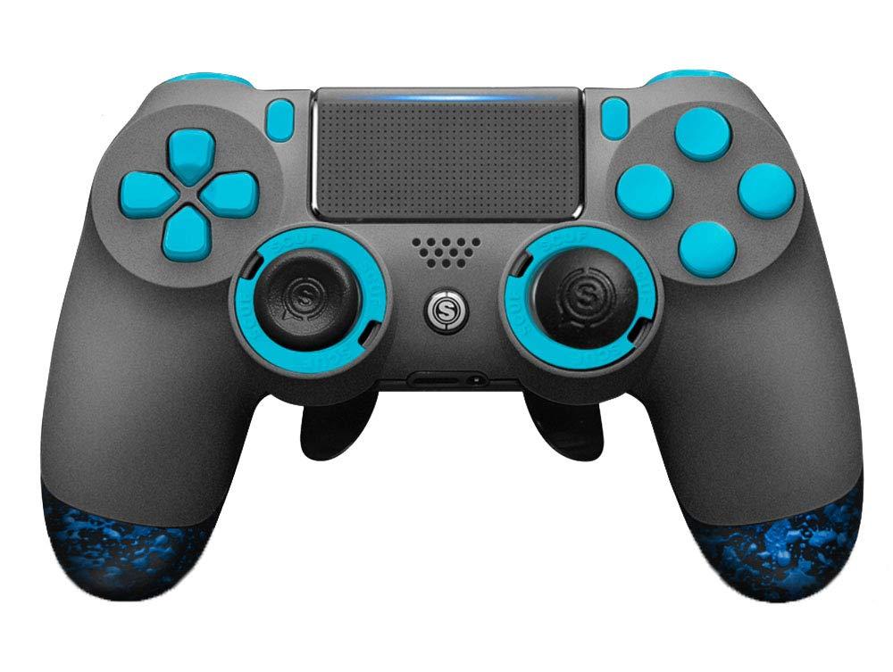 SCUF(スカフ) Infinity 4PS PRO Blueエディション フルカスタム PS4 対応 コントローラー [並行輸入品]