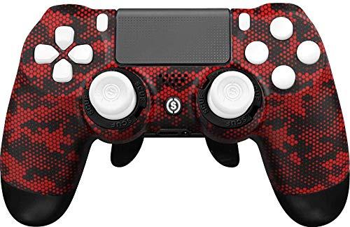 SCUF(スカフ) インフィニティ Infinity 4PS PRO DIGITAL CAMO RED デジタル カモ レッド フルカスタム ゲーミングコントローラー [並行輸入品]