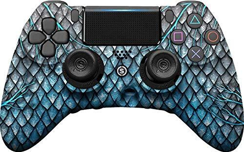 SCUF(スカフ) IMPACT BLUE DRAGON ブルー ドラゴン PS4対応コントローラー [並行輸入品]