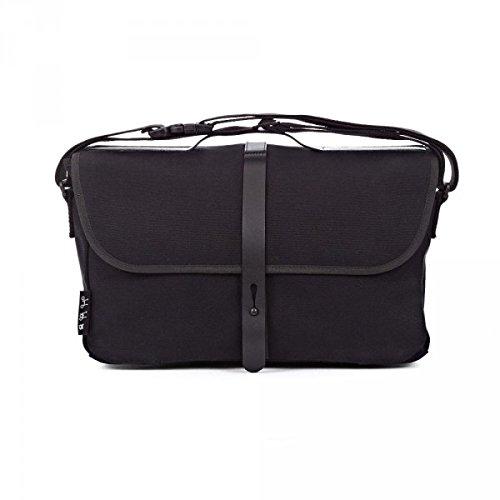 送料無料 BROMPTON ブロンプトン Shoulder Bag Black ブロンプトン ショルダーバッグ ブラック