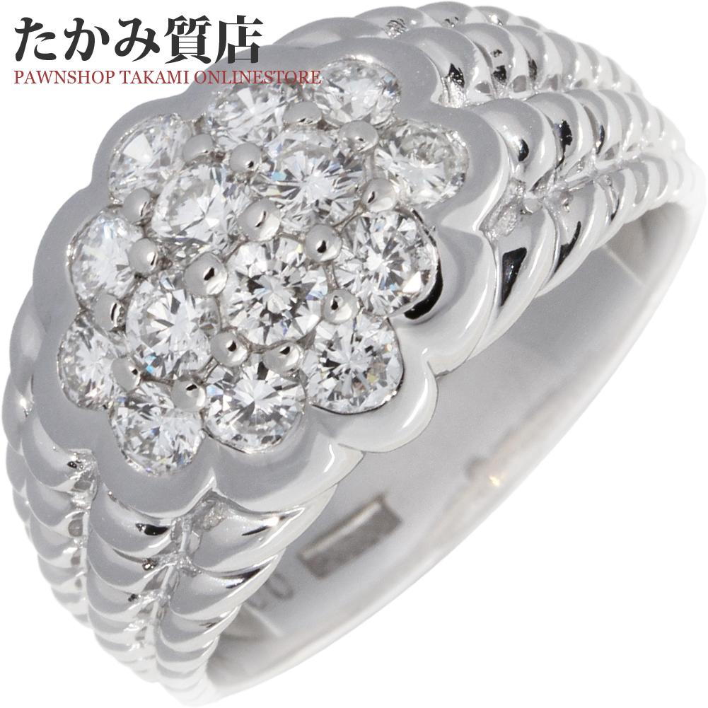 指輪 リング Pt900 ダイヤ1.00ct 13号 中古 新品仕上げ