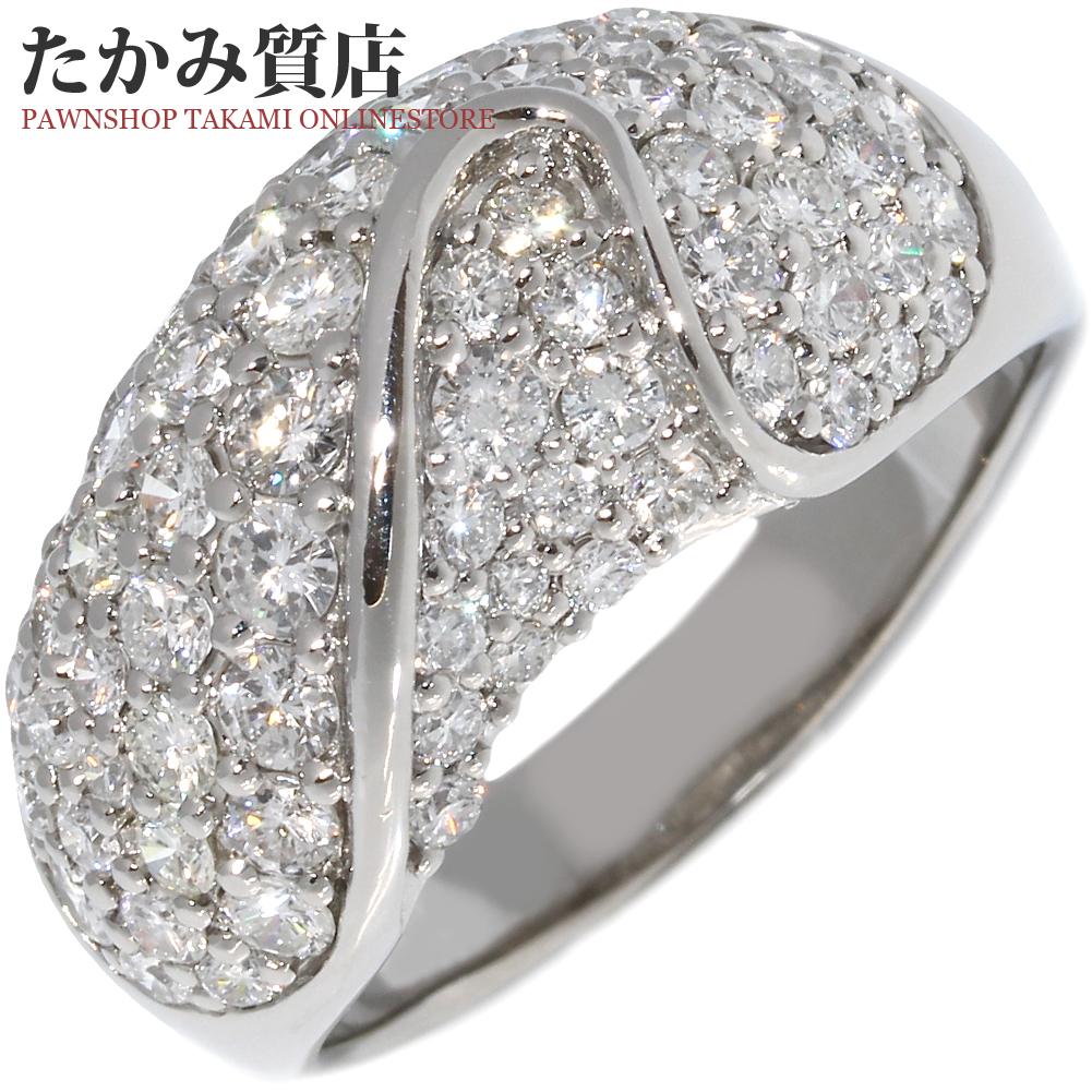 指輪 リング Pt900 ダイヤ1.50ct 15.5号 中古 新品仕上げ