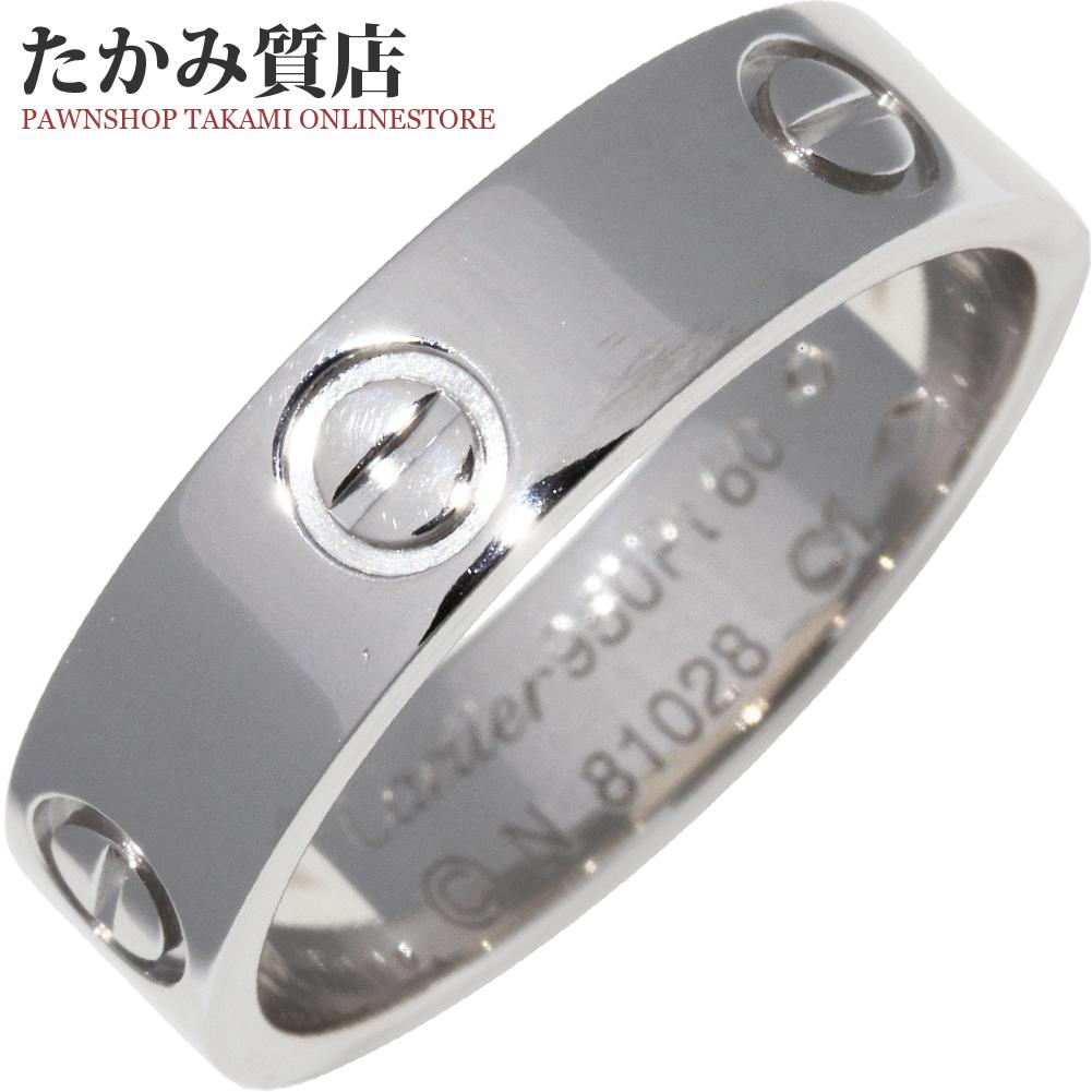 公式サイト カルティエ Pt950 ラブリング 幅5.5ミリ メンズリング B40849 #60(19.5号)指輪(リング), 日高郡 36c877b2