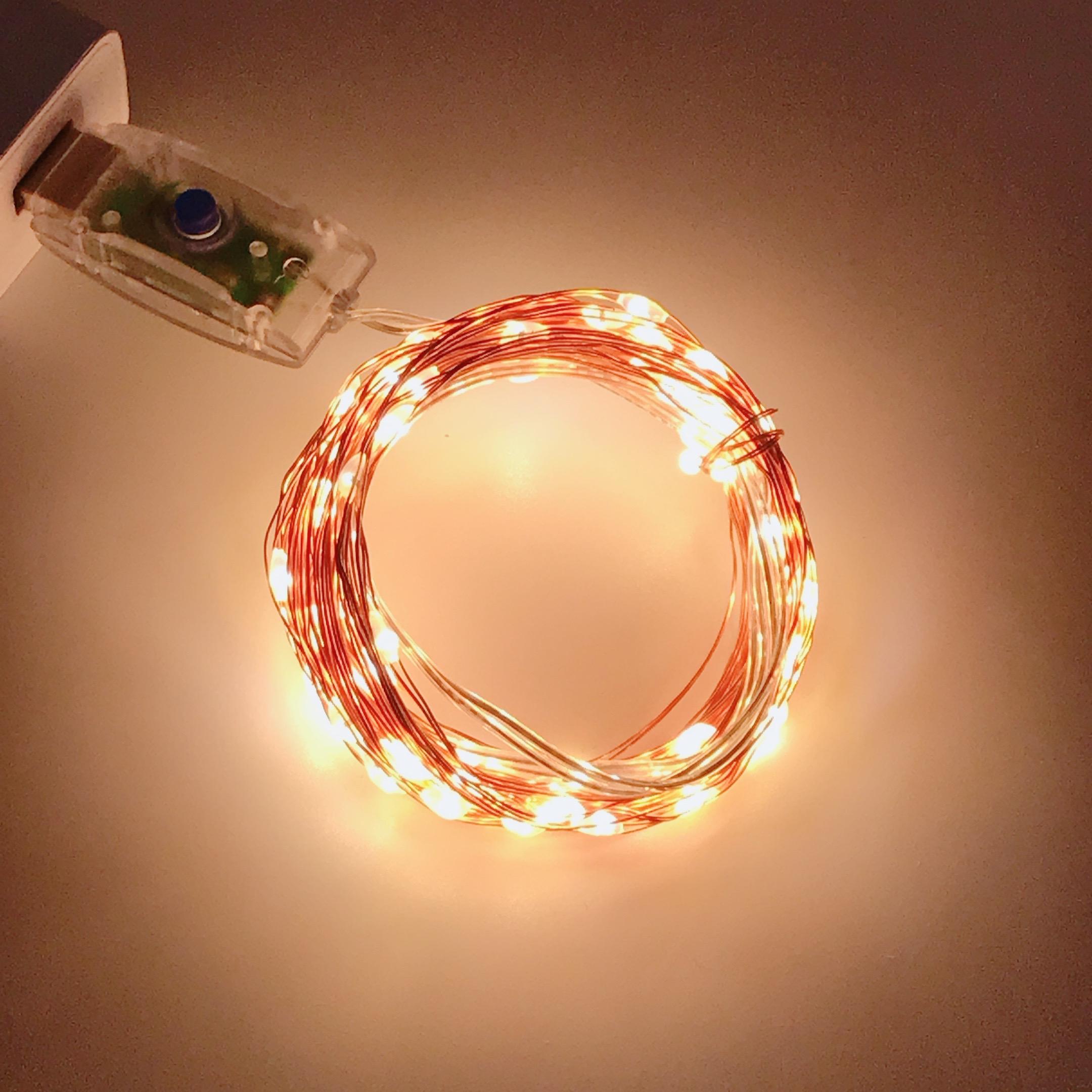 超美品再入荷品質至上 TAKANAWA value 10m LED100球 点灯8種類 室内デコレーション クリスマス パーティーに USB式 LEDイルミネーションライト 電飾 銅線ワイヤーライト LEDストリングライト マート 取り付け簡単フェアリーライト 点灯切り替え 飾り 電球色 LEDイルミネーション リモコン別売り ウォームホワイト