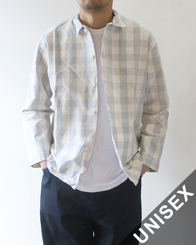 TENDER Co. テンダーコー シャツ 【レディース】【メンズ】 WS422 WEAVER'S STOCK LONG SLEEVED SQUARE SHIRT - BROAD CHECK スクエアシャツ 422 【送料無料】 (ユニセックス)