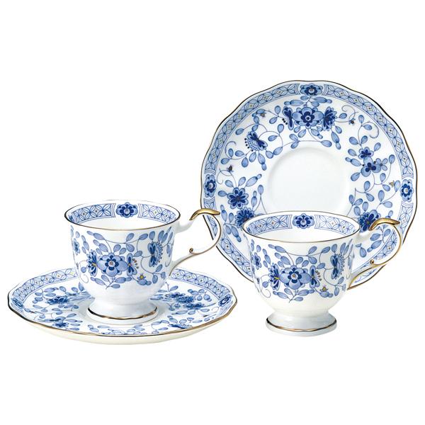 NARUMI【ナルミ】ミラノ コーヒーカップ&ソーサーペア ペア碗皿 内祝い お返し 出産内祝い 結婚お祝い 結婚内祝い プレゼント コーヒーペアセット