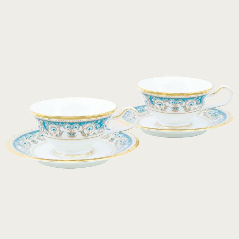 【ノリタケ】≪アルマンド≫ティー・コーヒー碗皿ペアセットペア碗皿 内祝い お返し 出産内祝い 結婚お祝い 結婚内祝い 母の日 父の日 誕生日プレゼント コーヒーペアセット