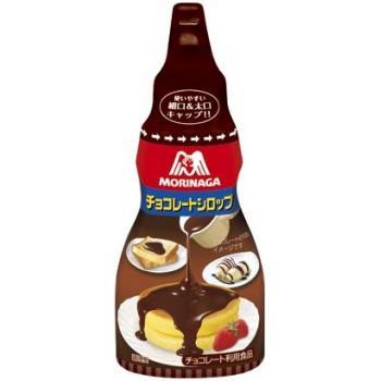 ★お買得ケース販売 まろやかなチョコレートの味わいが楽しめるシロップ。  森永 チョコレートシロップ 200g×40本  【送料無料(一部地域を除く)】