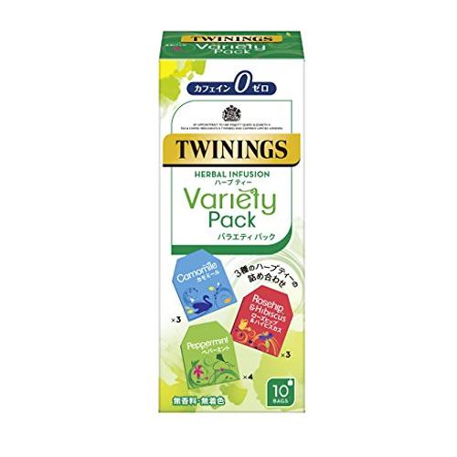 トワイニング 紅茶 ハーブティー バラエティパック 10袋×48個