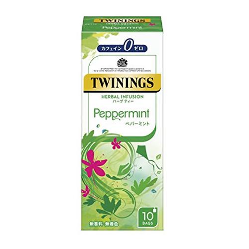 トワイニング 紅茶 ハーブティー ペパーミント 10袋×48個