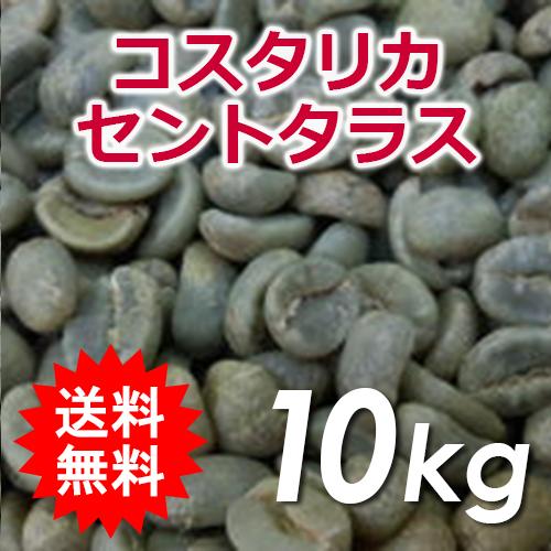 セントタラス 生豆 Q認証 10kg(5kg×2) 【送料無料(一部地域を除く)】コーヒー コスタリカ