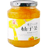 お買得ケース販売 余分な甘味は加えず 柚子のフルーティな味をしっかりと味わえます 徳山物産 皮ごと正直柚子茶 一部地域を除く 送料無料 販売 同梱不可 ビン セール価格 580g×15本