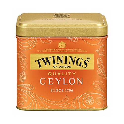 トワイニング 紅茶 クオリティ セイロン 100g×24缶