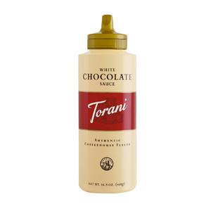 お買得ケース販売 東洋ビバレッジ トラーニ ホワイトチョコレートソース 日本正規品 468g×4本 一部地域を除く メーカー再生品 送料無料