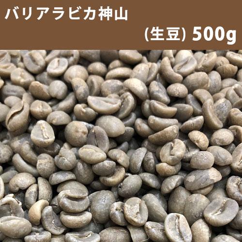 ★ 激安 コーヒー生豆  【送料無料】メール便 コーヒー 生豆 バリアラビカ神山 500g(250g×2)【同梱不可】