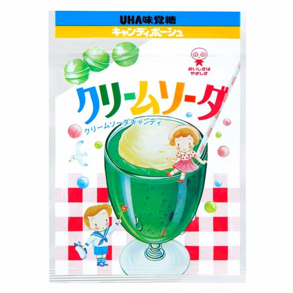 (本州一部送料無料)味覚糖 クリームソーダ (10×12)120入 【ラッキーシール対応】