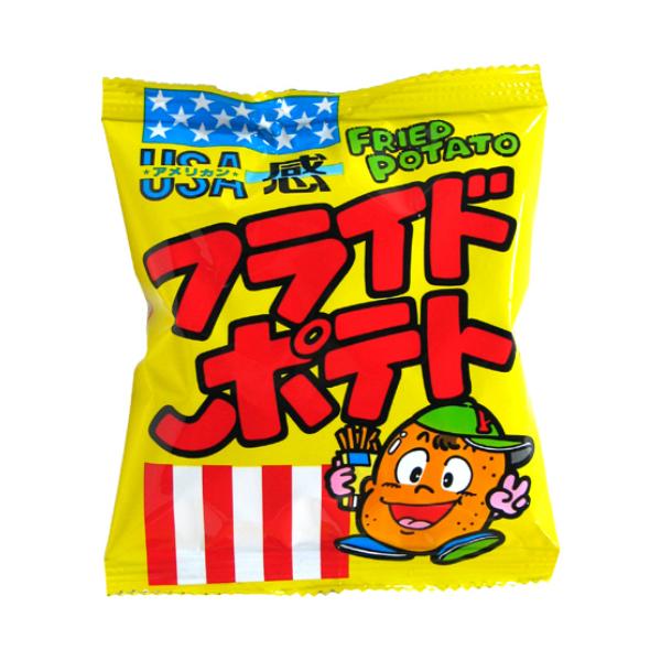 本州・四国・九州は送料無料! 北海道・沖縄は配送不可です。 (本州送料無料) 菓道 フライドポテト (30×5)150入