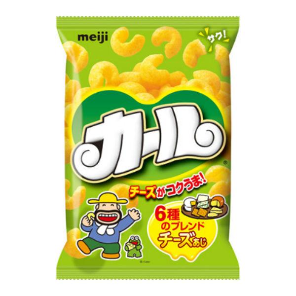明治 カールチーズあじ 10入 【ラッキーシール対応】@