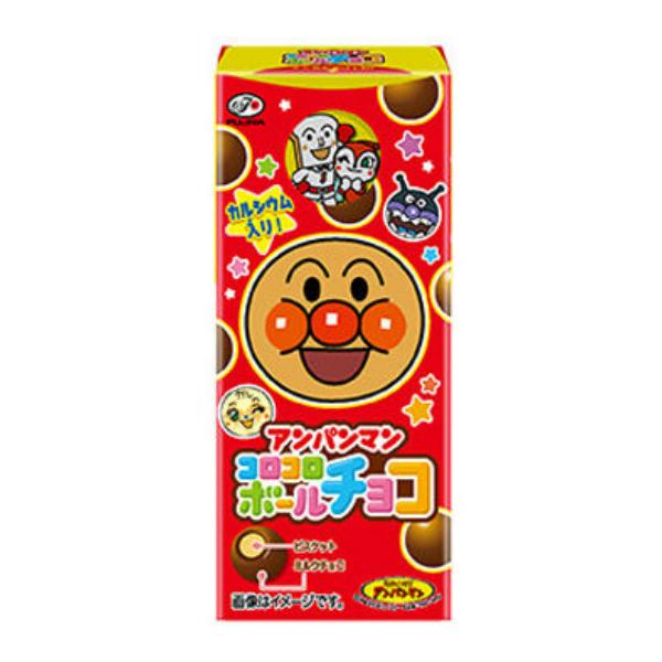 (本州送料無料)不二家 20g アンパンマンコロコロボール チョコ (10×32)320入 (Y12)(2ケース販売)