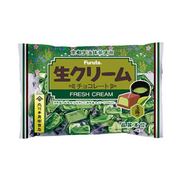 (本州送料無料)フルタ 生クリームチョコ 宇治抹茶 (16×4)64入 (Y14)