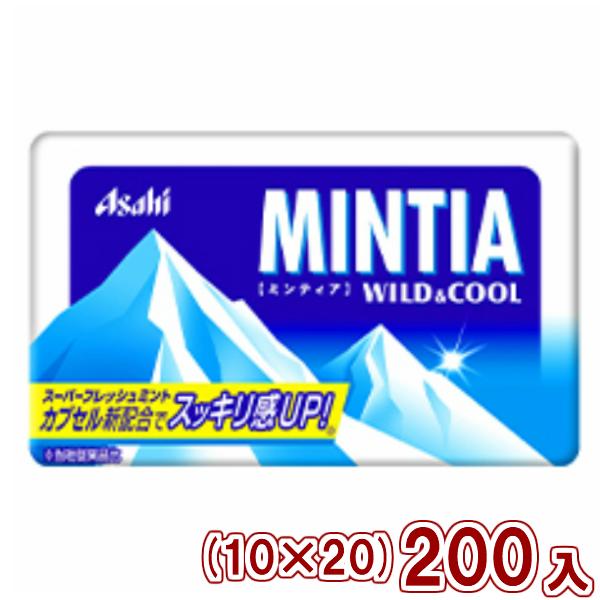 (本州送料無料) アサヒフード ミンティア ワイルド&クール (10×20)200入 (Y80)