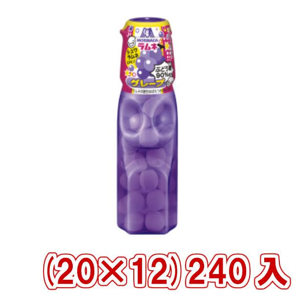 (本州一部送料無料) 森永 ラムネ グレープ&シュワラムネ (20×12)240入 (Y10) 【ラッキーシール対応】