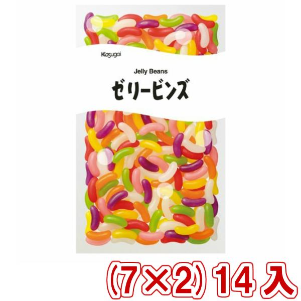 (本州送料無料)春日井 1kg ゼリービンズ 業務用 (7×2)14入(Y12)(2ケース販売)