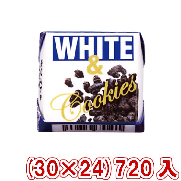 (本州送料無料) チロルチョコ ホワイト&クッキー (30×24)720入 (Y80)(駄菓子)
