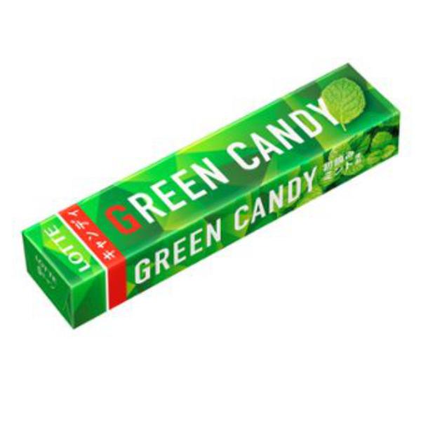 高価値 即納 10入×24まで1個口の送料でお送りできます ロッテ グリーンキャンディ10個入
