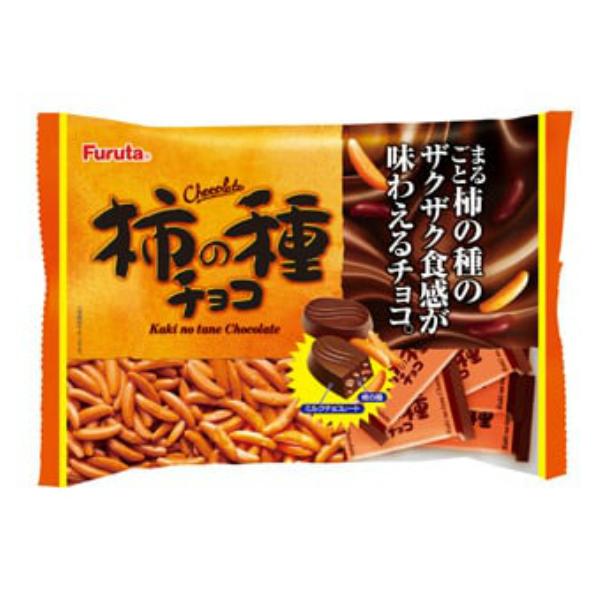(本州一部送料無料)フルタ 柿の種チョコ 16入