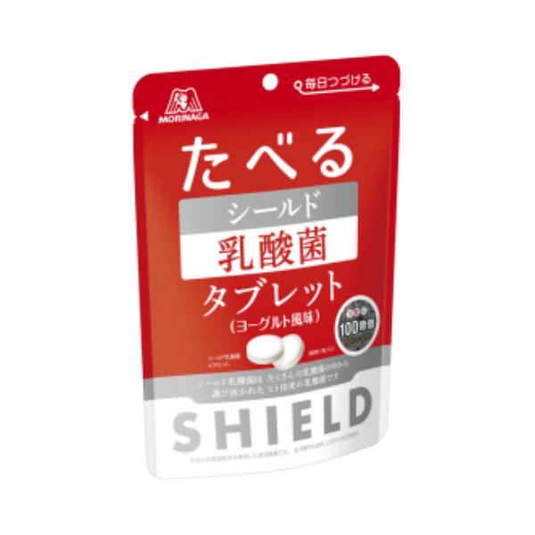 (本州送料無料) 森永 たべる シールド乳酸菌タブレット ヨーグルト風味 (6×8)48入