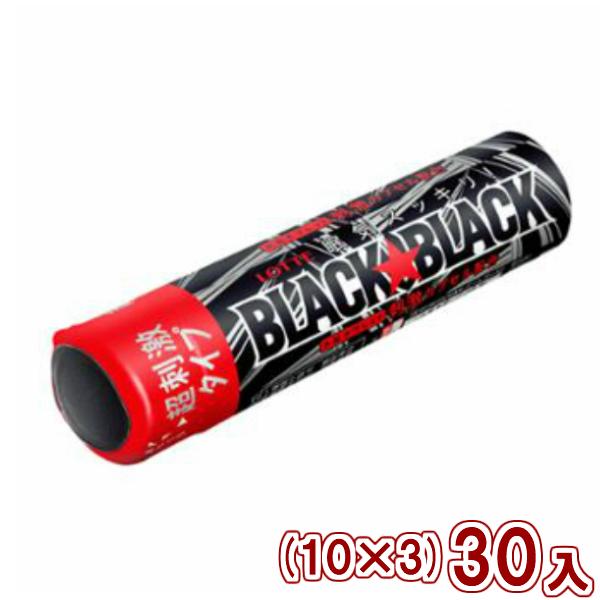 (本州一部送料無料)ロッテ ブラックブラックタブレット ストロングタイプ(10×3)30入 (Y60) 【ラッキーシール対応】