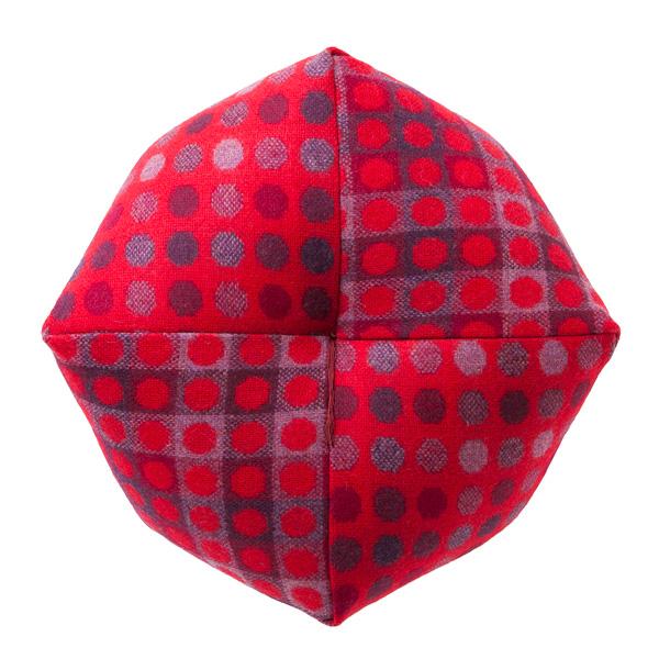 おじゃみ座布団 ウエールズウール Mサイズ 直径約40cm 洛中高岡屋 日本製
