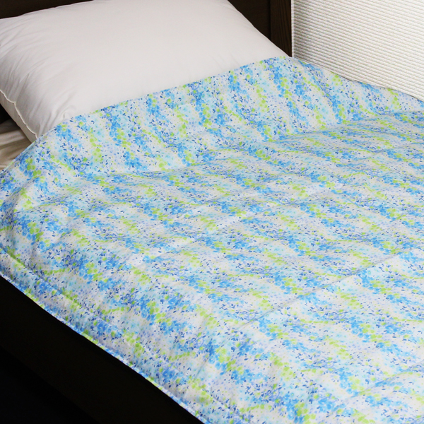 ガーデン 八分の五夏布団 約120×160cm ウォッシャブルタイプ 夏ふとんサイズ 職人の手作り 京都 洛中高岡屋 日本製