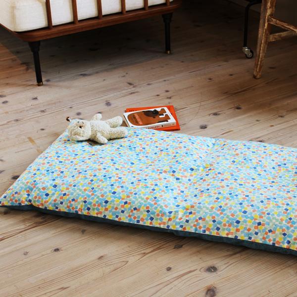ごろ寝キッズ 子供用 赤ちゃん用 ごろ寝布団 55×120cm リバーシブルタイプ 京都 洛中高岡屋 マット シート おしゃれ 日本製