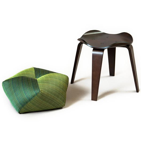 おじゃみスツール 椅子 テーブル 2WAY 【日本製】 【送料無料】