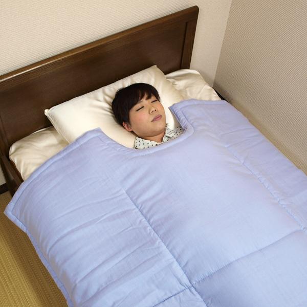 和晒ガーゼくびくり 薄掛けふとん シングルサイズ 150×220cm 京都 洛中高岡屋 日本製