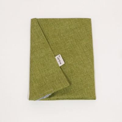 ファスナーを横ではなく後ろにつけました 座布団カバー ファッション通販 綿 萌黄 もえぎ 50×55cm 通販 激安◆ 小座布団サイズ