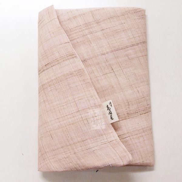 ファスナーを横ではなく後ろにつけました 座布団カバー 麻 葩 公式ショップ はなびらもち セール 特集 銘仙判サイズ 55×59cm