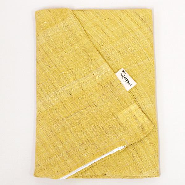 在庫あり ファスナーを横ではなく後ろにつけました 全国一律送料無料 座布団カバー 麻 橘 たちばな 小座布団サイズ 50×55cm