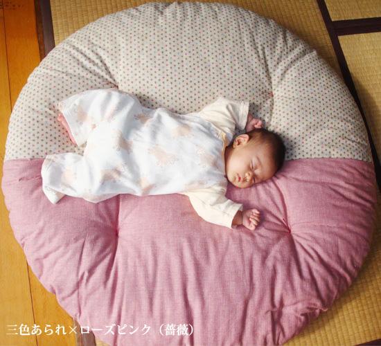 せんべい座布団 直径約1m 中わた約1kg 職人の手作り 京都 洛中高岡屋 丸い座布団 丸型 おしゃれ ざぶとん 日本製
