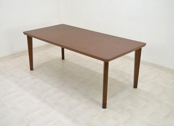 即日発送 テーブル ダイニングテーブル 180cm 2色対応 ブラウン色 180cm siaz-360-L4D 食卓 4本脚テーブル ダイニング テーブル ラバーウッド 木製 天然木 食卓 2色対応, オモテゴウムラ:0a013b19 --- supercanaltv.zonalivresh.dominiotemporario.com