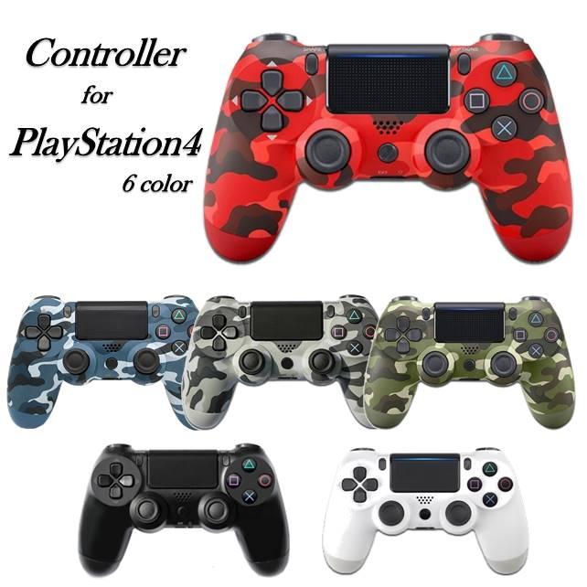 PS4 コントローラー プレステ4 互換品 ワイヤレス イヤホンジャック付き タッチパッド 選択 Bluetooth PlayStation4 結婚祝い