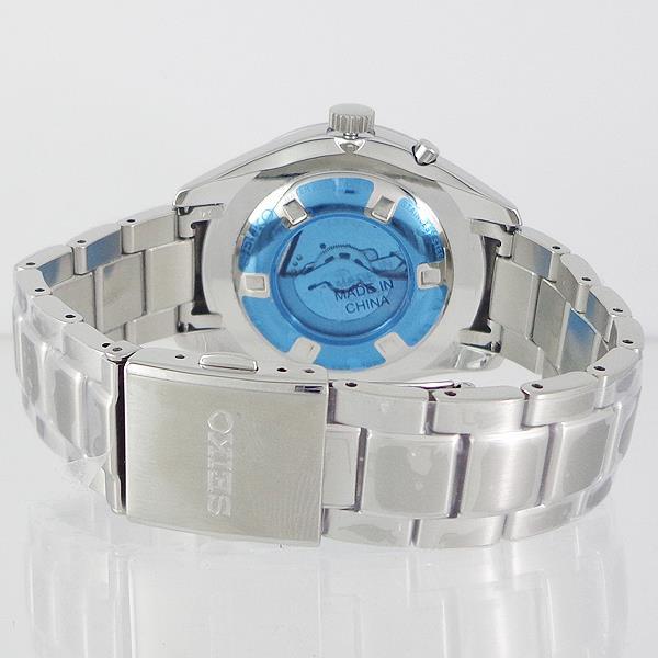 SEIKOSRN047P1逆輸入 セイコー キネティック レトログラード ダイバーズ メタル ウォッチ SEIKO KINETIC WATER RESISTANT 10BAR STAINLES STEEL ダークブルー DARK BLUE0vwOmN8n