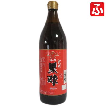 玄米黒酢・福山酢(ヤマシゲ)900ml×12本【お買い得価格!】
