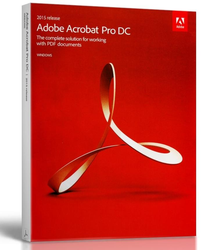 PDFファイル作成永久ライセンス版 パッケージ版 Adobe Acrobat Pro DC 2015 for Windows 言語自動判別、日本語対応 永久ライセンス版 アドビ アクロバット
