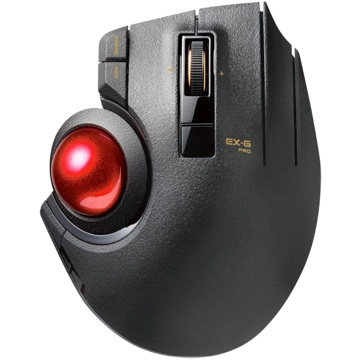 エレコム お買い得 着後レビューで 送料無料 マウス 有線 ワイヤレス Bluetooth 8ボタン トラックボール親指 チルト機能 M-XPT1MRXBK ブラック